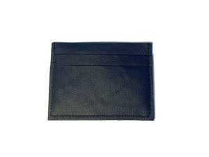 Navy Dark Card Case 5 Slots
