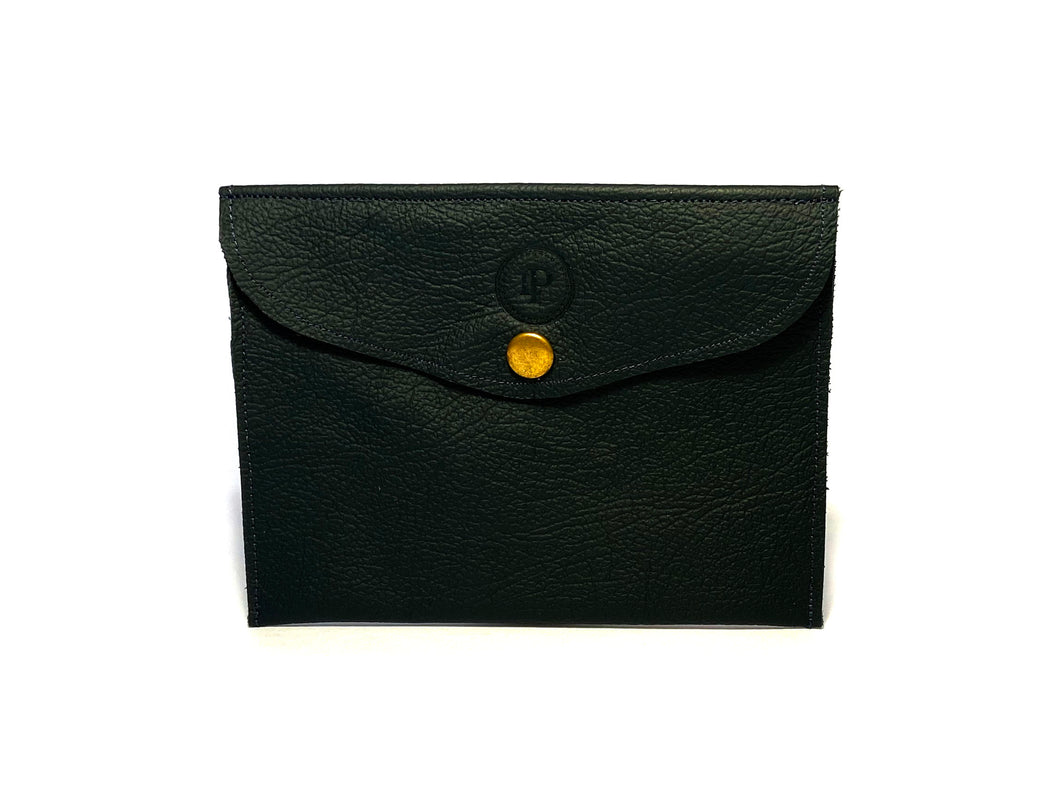 Navy Black Pouch