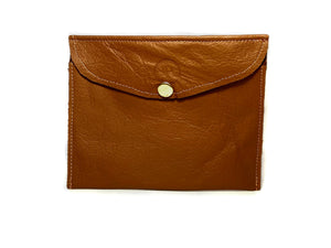Brown Tan Pouch