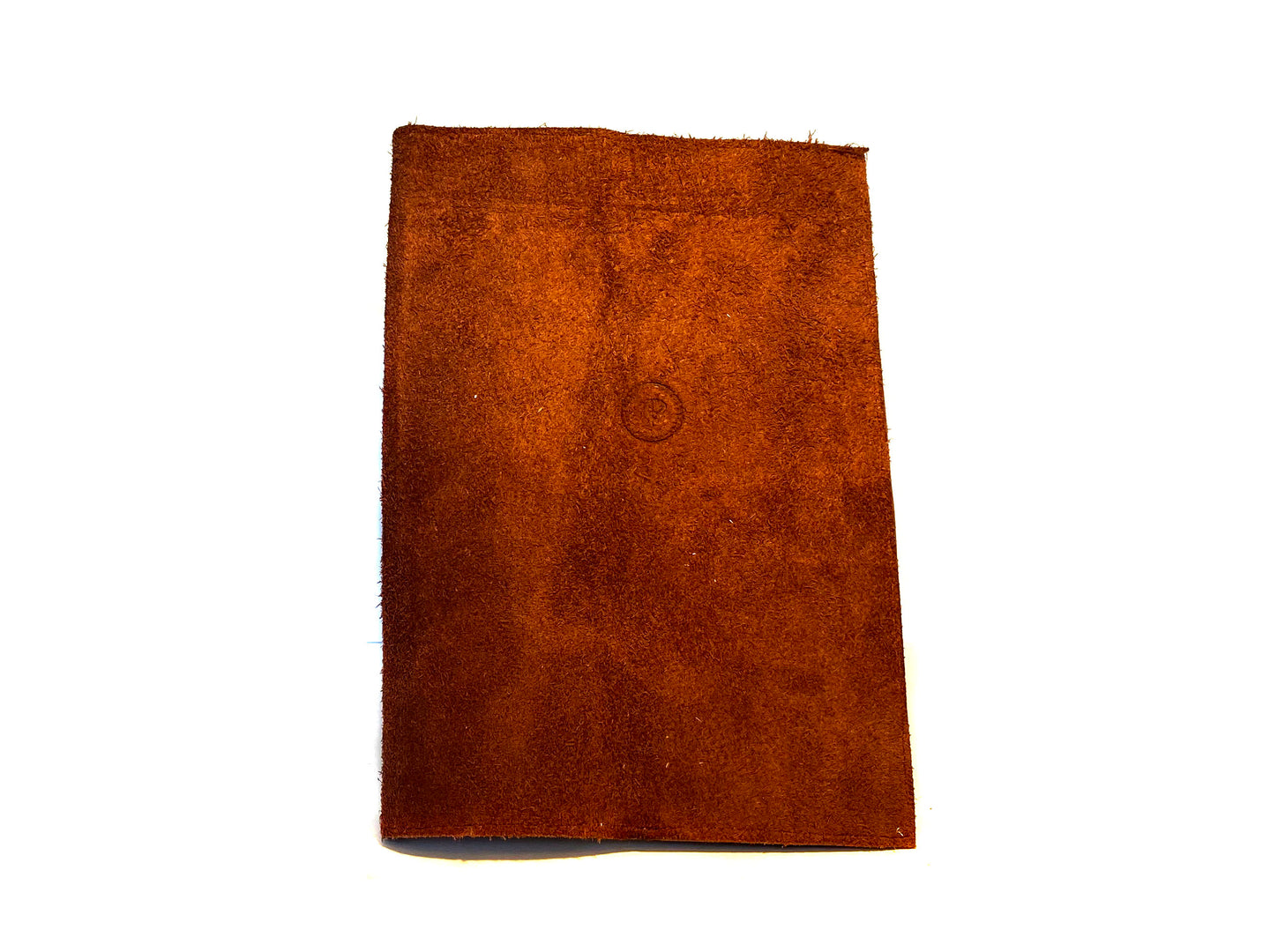 Brown Suede Notepad A5
