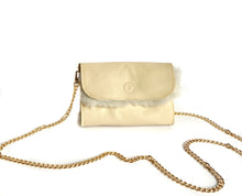 Load image into Gallery viewer, Cream Shearling Mini Bag