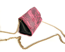 Load image into Gallery viewer, Pink Snake Mini Bag