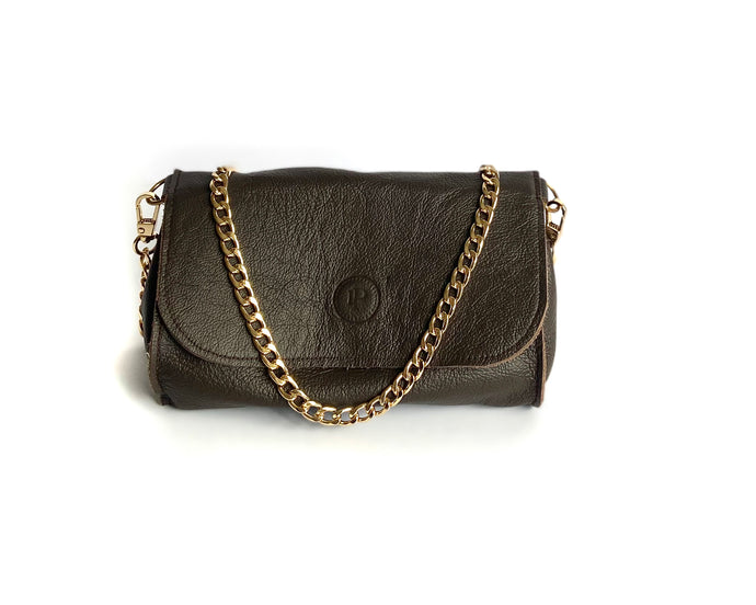 Brown Dark Mini Bag
