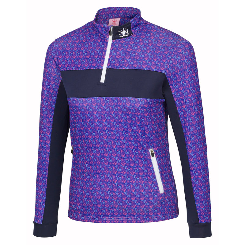 LIVVY Girls 1/4 Zip Jacket