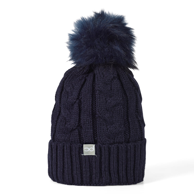 BEXY Bobble Hat - Navy