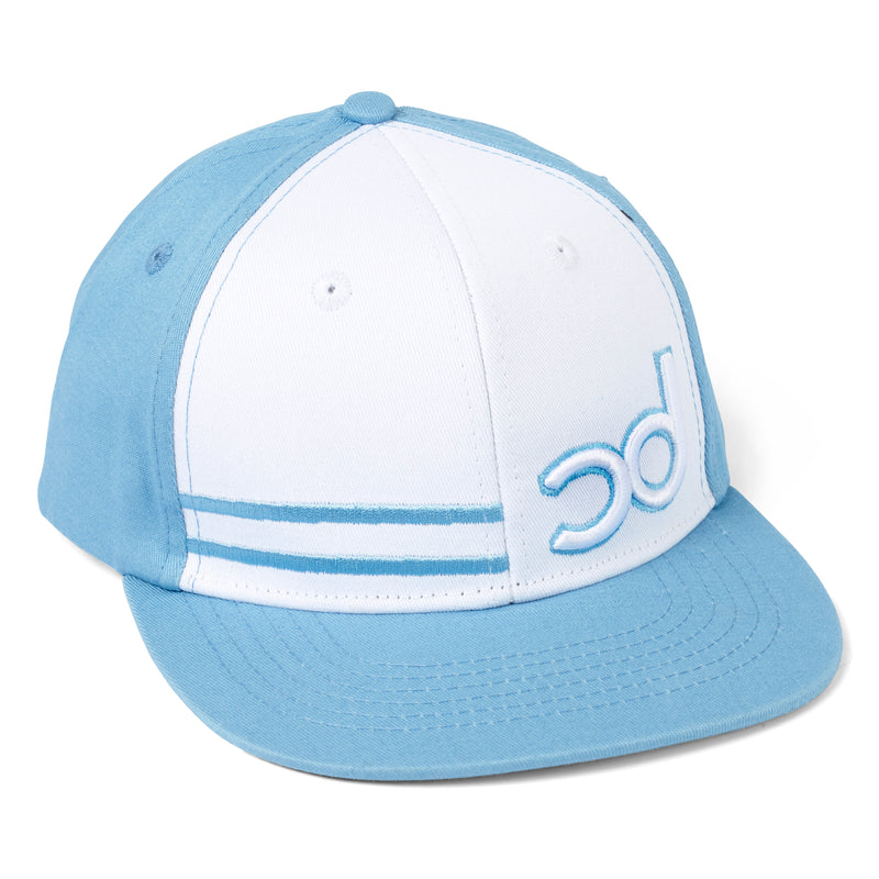 WILLSY Snapback Cap - Blue/White