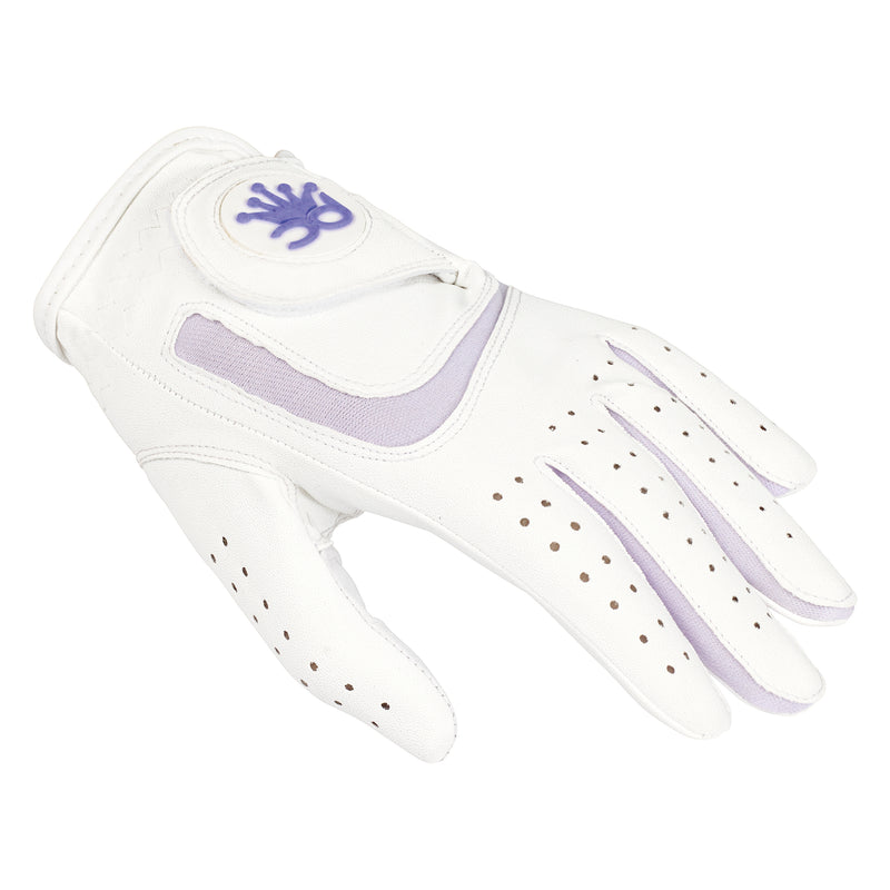 GIRLS PURPLE ALL WEATHER GLOVE - RIGHT HAND (Left Handed Golfer)
