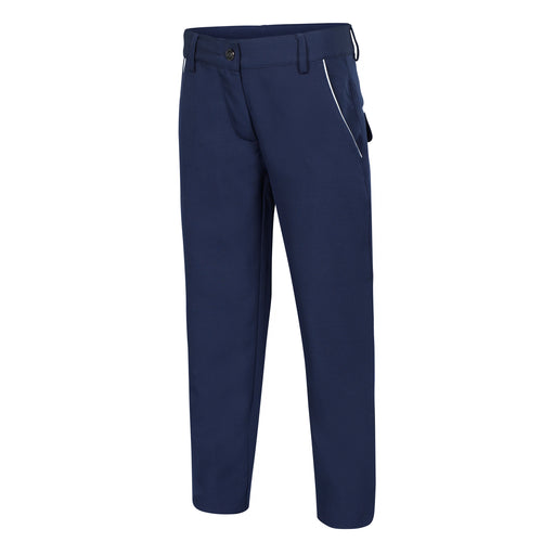SLIM FIT LYDDIE Girls Tech Trouser - Navy - SALE