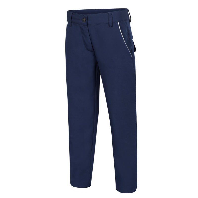 SLIM FIT LYDDIE Girls Tech Trouser - Navy