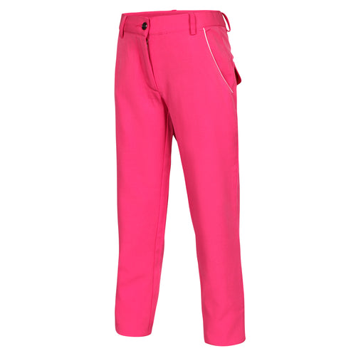 SLIM FIT LYDDIE Girls Tech Trouser - Pink