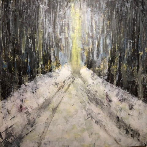 """Path"" Acrylic on Canvas 36"" x 36"""
