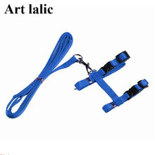 Load image into Gallery viewer, Cat Harness And Leash Hot Sale 3 Colors Nylon Products For Animals Adjustable Pet Traction Harness Belt Cat Kitten Halter Collar