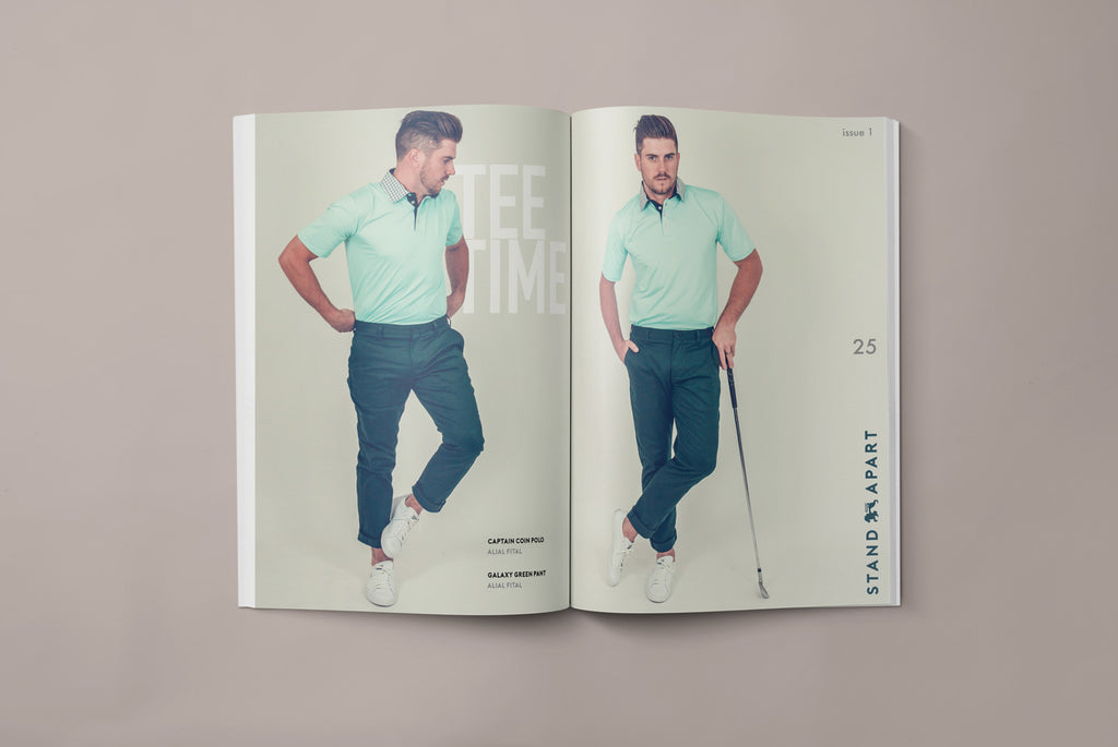 Tee Time - Alial Fital Style guide