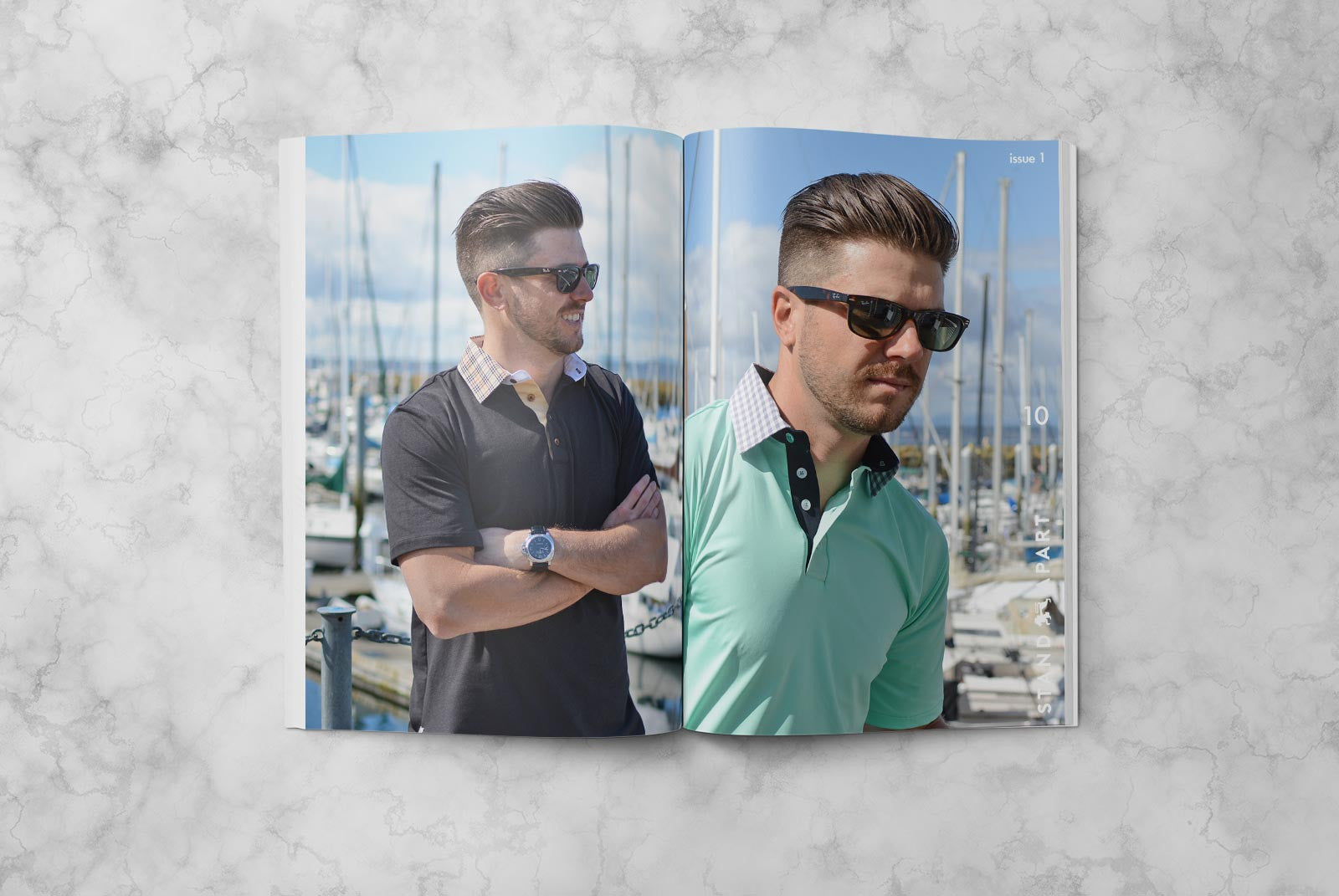 Shop mens golf shirts american made polos Alial Fital