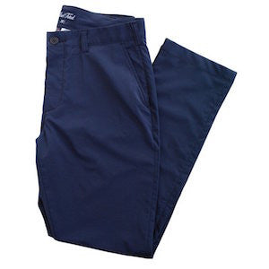 Navy performance pants for men. Shop great fitting menswear at Alial Fital