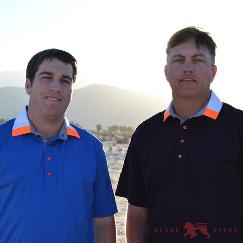bo van pelt and jim renner in alial fital mens polos