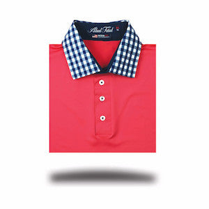 Golf polos for men from Alial Fital. Luxury polos made in USA