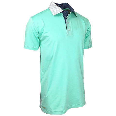 Bright Harbor Polo - Alial Fital American made polos for men - 1