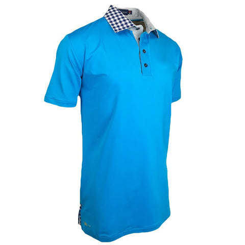 Space Hunter Polo - Alial Fital American made polos for men - 1