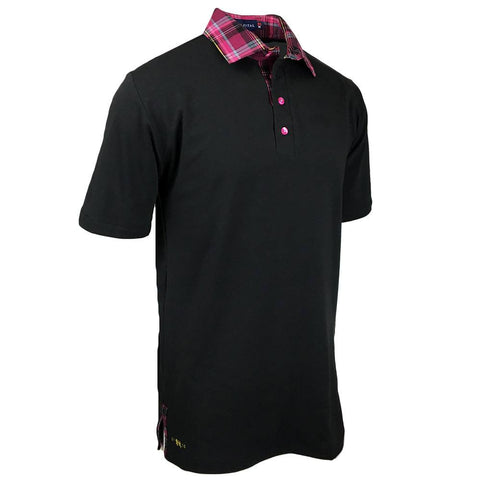 Scattered Night Polo - Alial Fital American made polos for men - 1