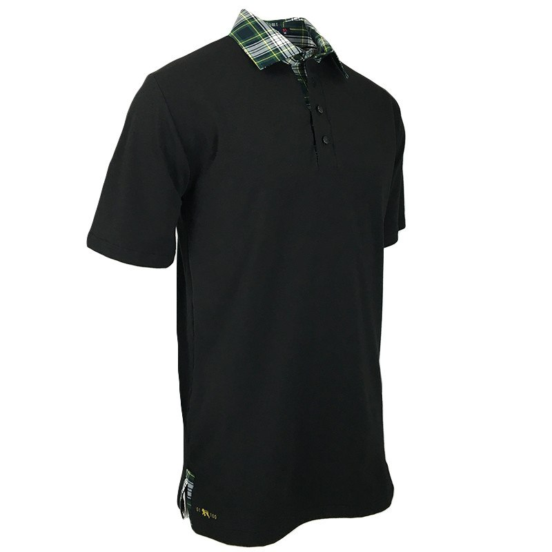 Smokey Peat Polo - Alial Fital American made polos for men - 1