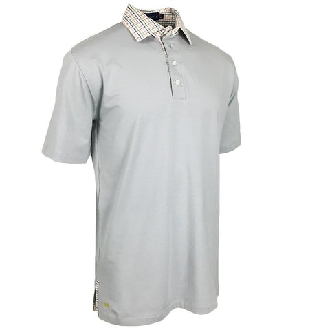 Aurora Ribbon Polo - Alial Fital American made polos for men - 1