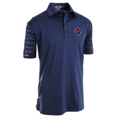 2015 U.S. Open Anthem Polo - Alial Fital American made polos for men - 1
