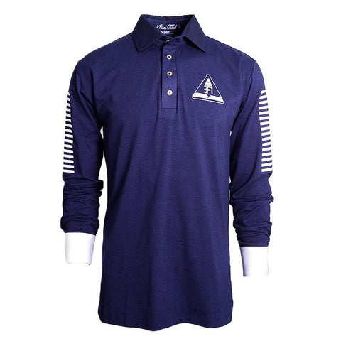 Astronaut Long Sleeve Polo - Alial Fital American made polos for men - 1