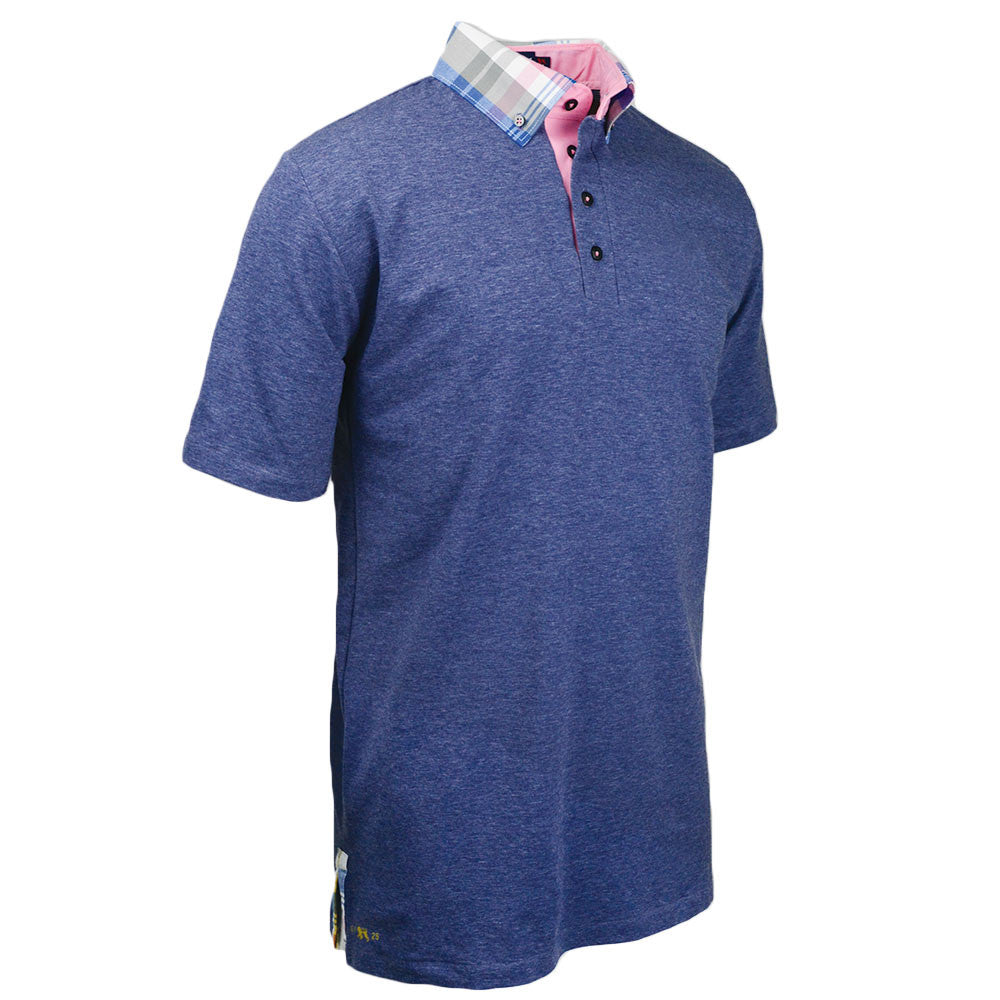 Awe of Virtue Polo - Alial Fital American made polos for men - 1