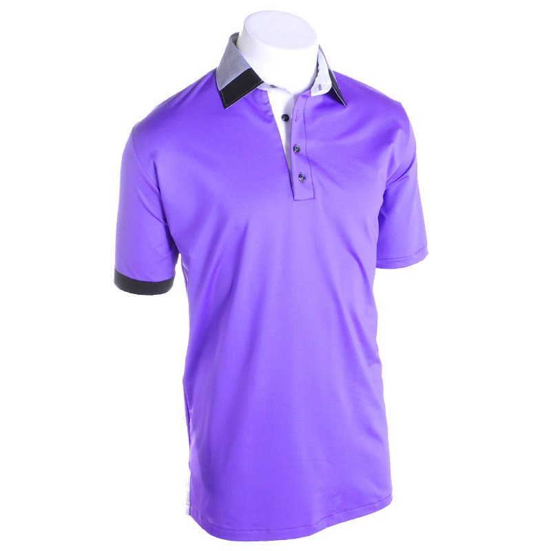 Castle Jazz Golf Polo - Alial Fital American made polos for men - 1