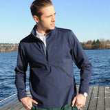 Castile & Leon Zip Up - Alial Fital American made polos for men - 4