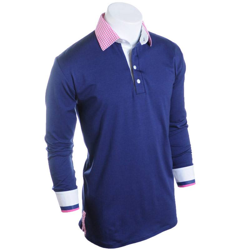 Change the Game Long Sleeve Polo - Alial Fital American made polos for men - 1