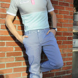 Claymore Stripe Pant - Alial Fital American made polos for men - 4
