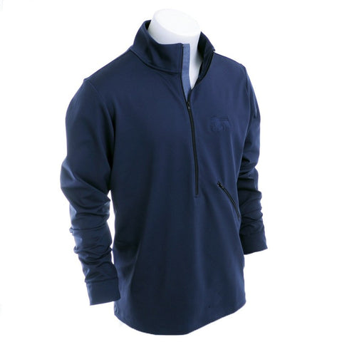 Castile & Leon Zip Up - Alial Fital American made polos for men - 1