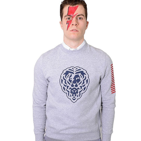 Aladdin Sane Sweatshirt - Alial Fital American made polos for men - 1