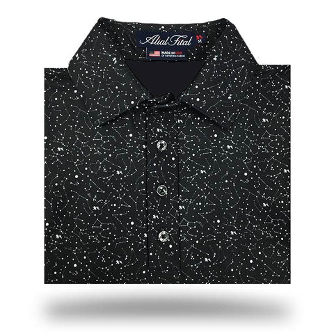 Constellation Explorer Polo - Alial Fital American made polos for men - 1