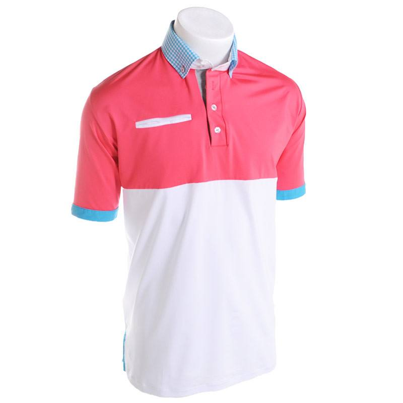Motorboat Golf Polo - Alial Fital American made polos for men - 1