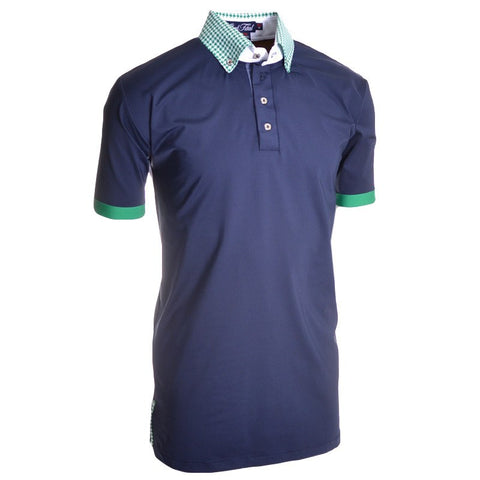 Deep Dive Polo - Alial Fital American made polos for men - 1