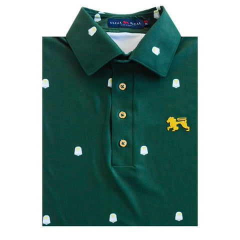 Eagles Eagles Eagles Jungle Polo - Alial Fital American made polos for men - 1