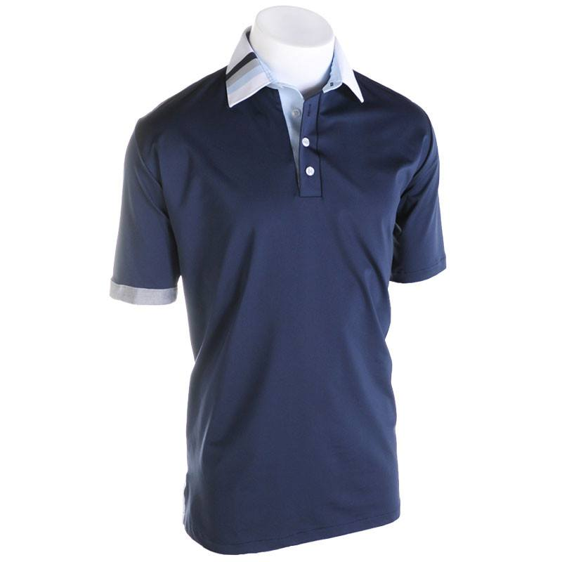 Early Light Golf Polo - Alial Fital American made polos for men - 1