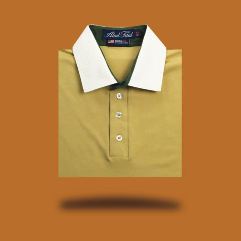 Feeling of Gold Polo - Alial Fital American made polos for men - 3