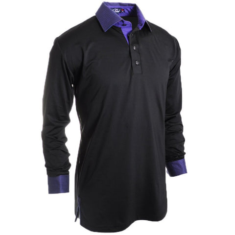 Royal Flush Push Polo - Alial Fital American made polos for men - 1