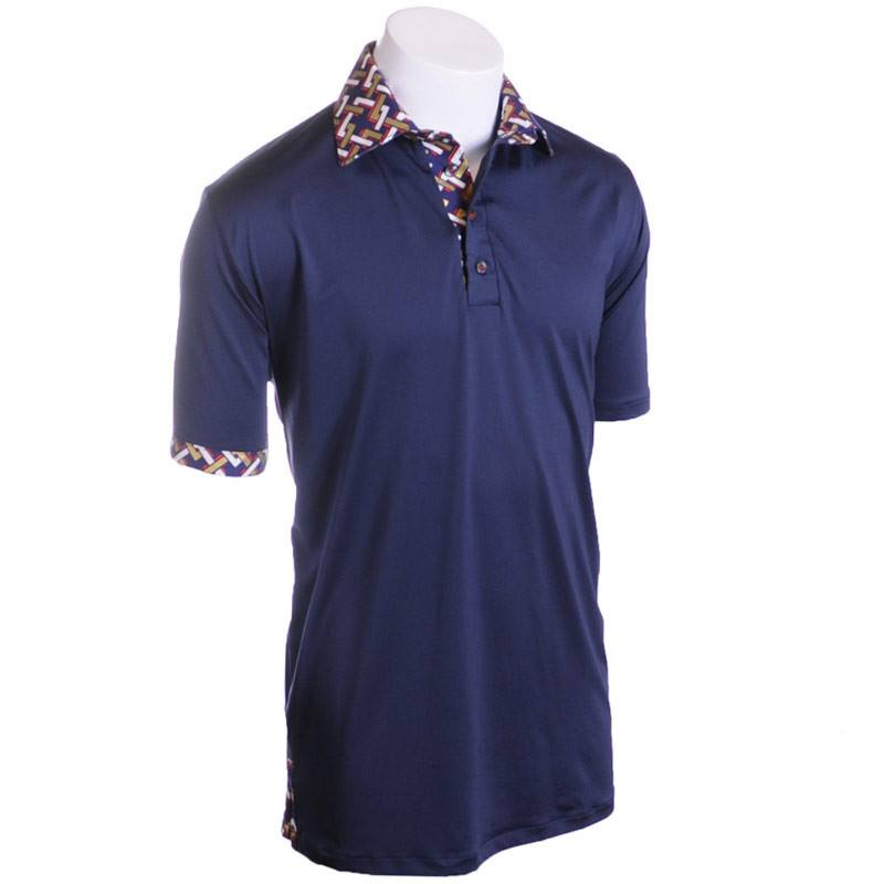The Knight Away Golf Polo - Alial Fital American made polos for men - 1