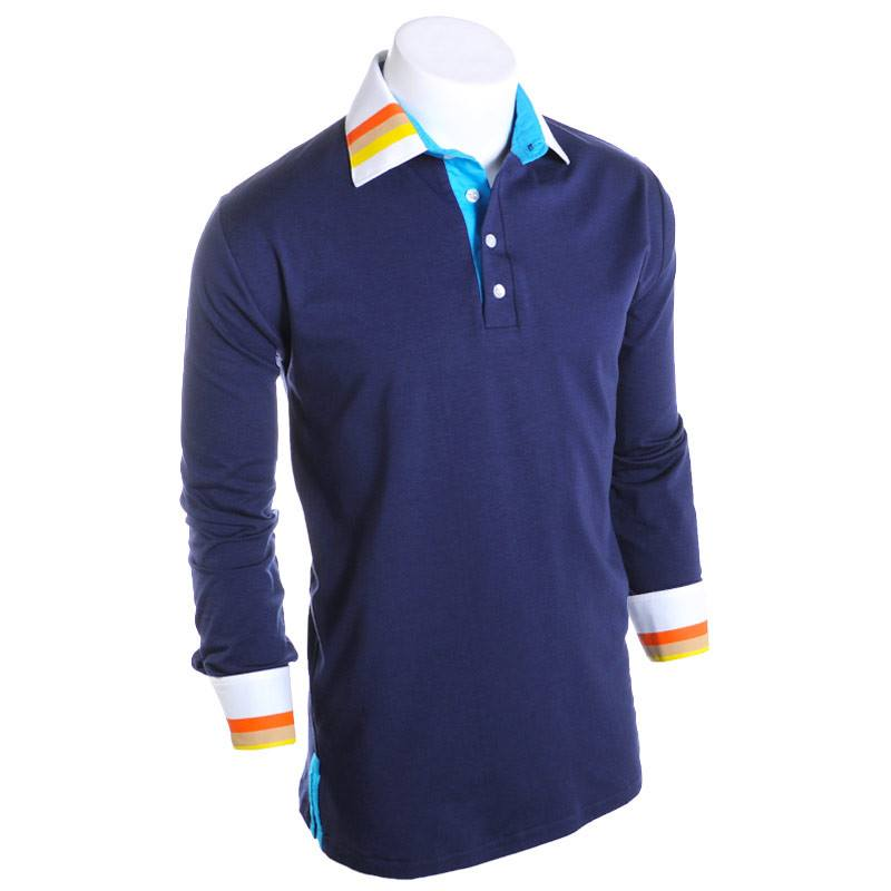 National Park Long Sleeve Polo - Alial Fital American made polos for men - 1