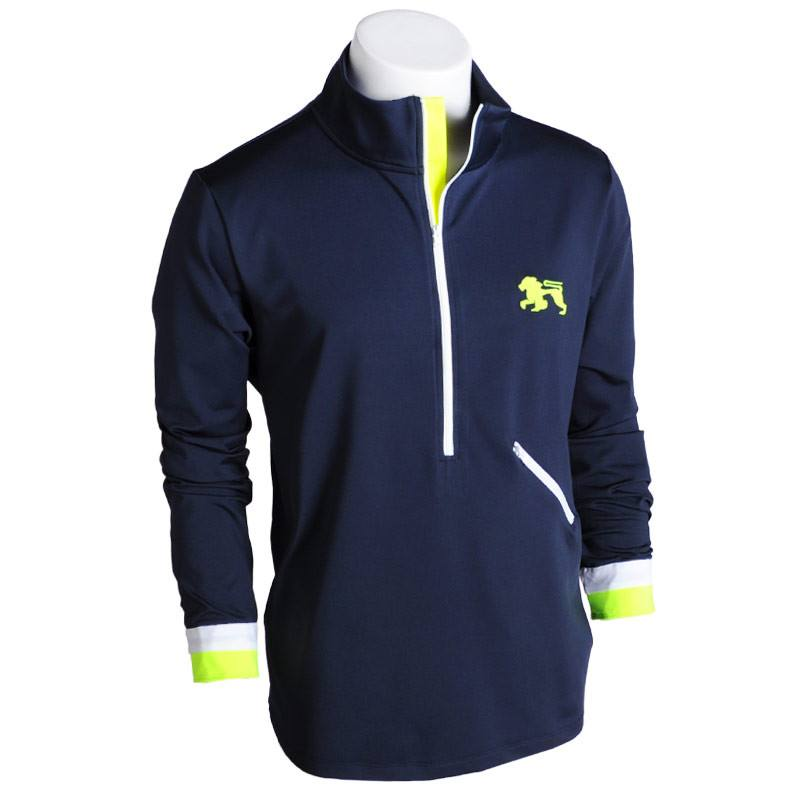 Fresh Prince of Monteray Bay Zip Up - Alial Fital American made polos for men - 1