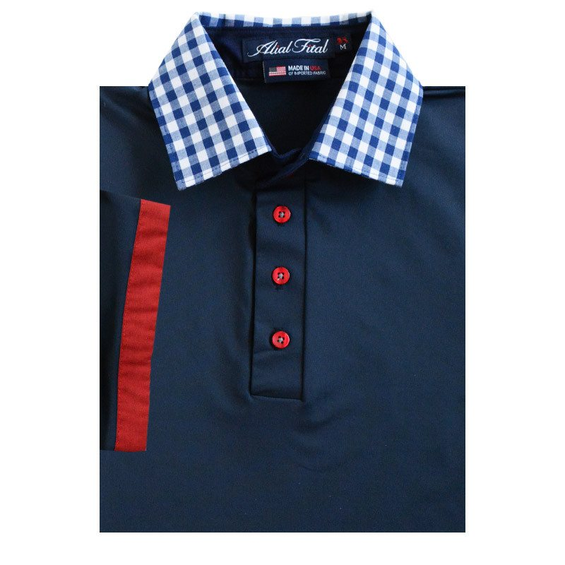 2015 U.S. Open Thursday Polo - Alial Fital American made polos for men - 1