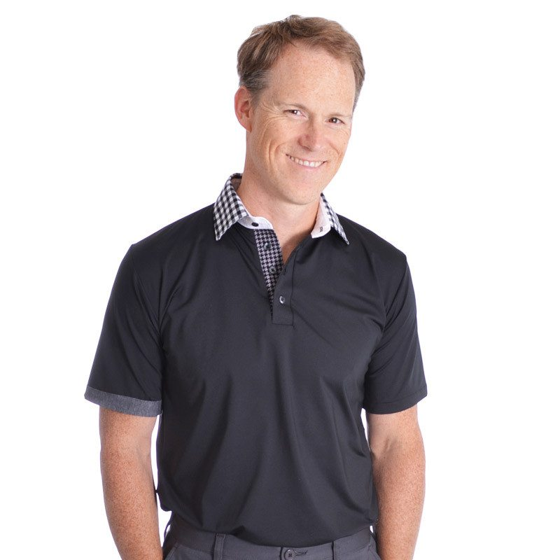 Nightcrawler Polo - Alial Fital American made polos for men - 1