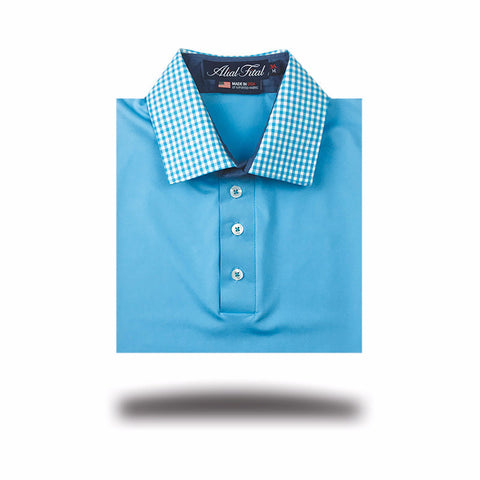 Night Dimension Polo - Alial Fital American made polos for men - 2