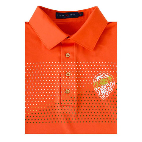 Hurricane Jungle TEXTURE Polo - Alial Fital American made polos for men - 1
