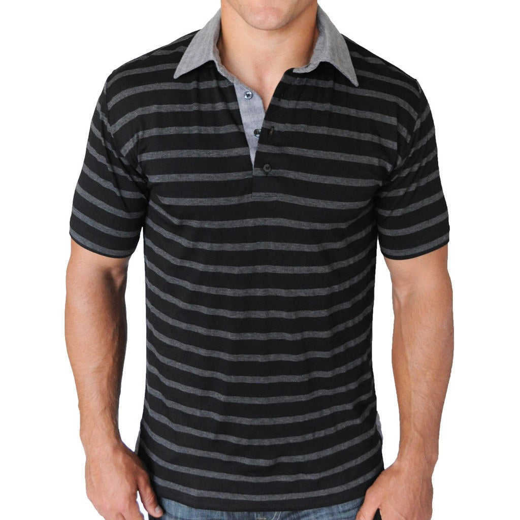 Peace and War Polo - Alial Fital American made polos for men - 1